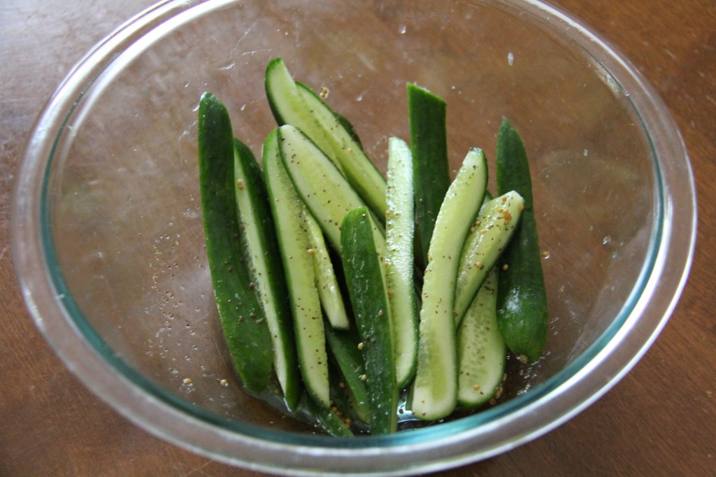 Baby Cucumbers 1