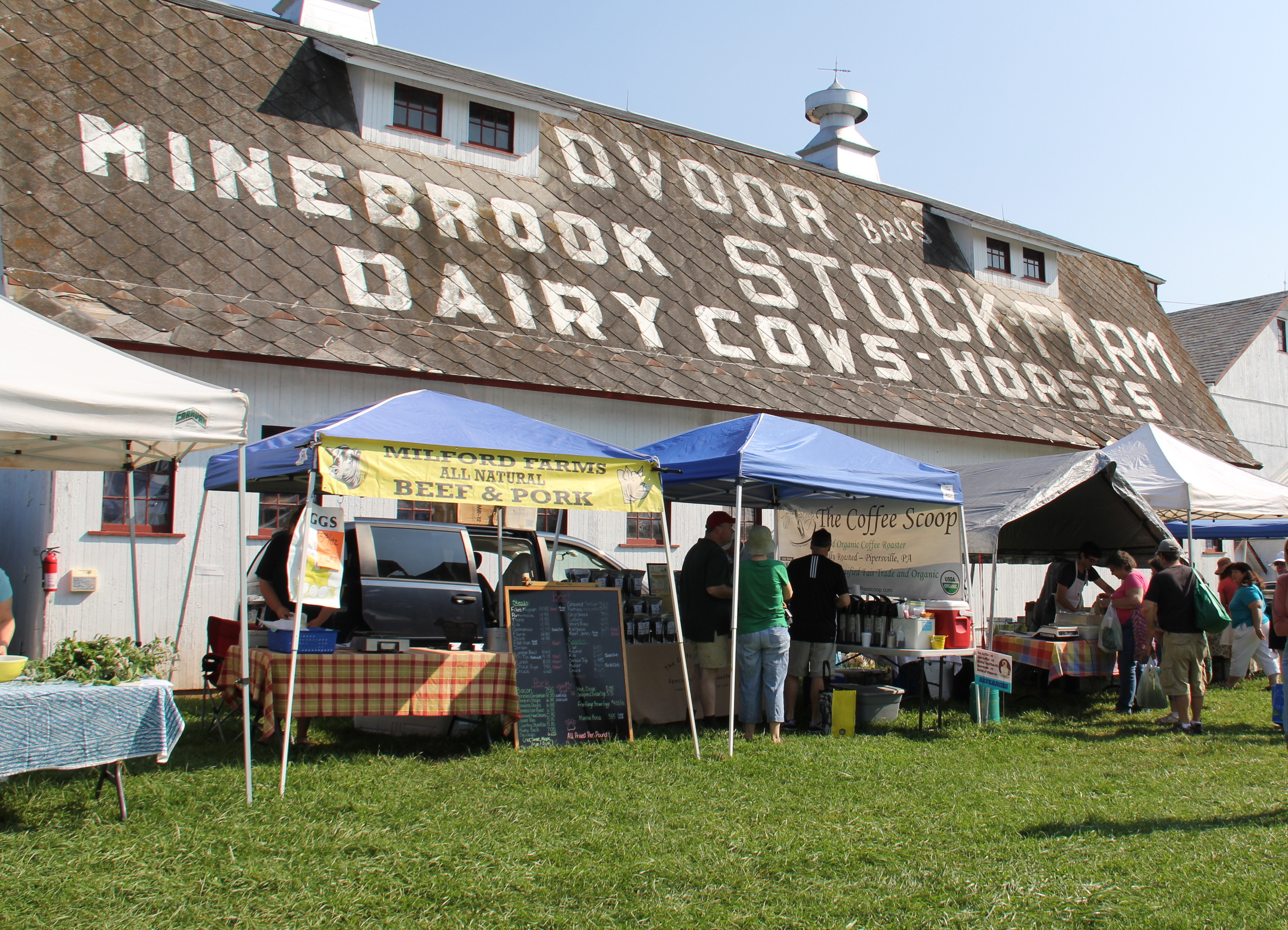 How to Shop at a Farmers' Market: Hunterdon Land Trust