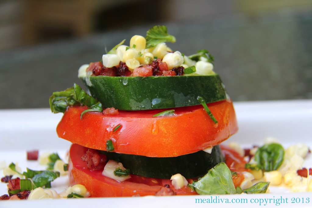Stacked Tom Salad 3