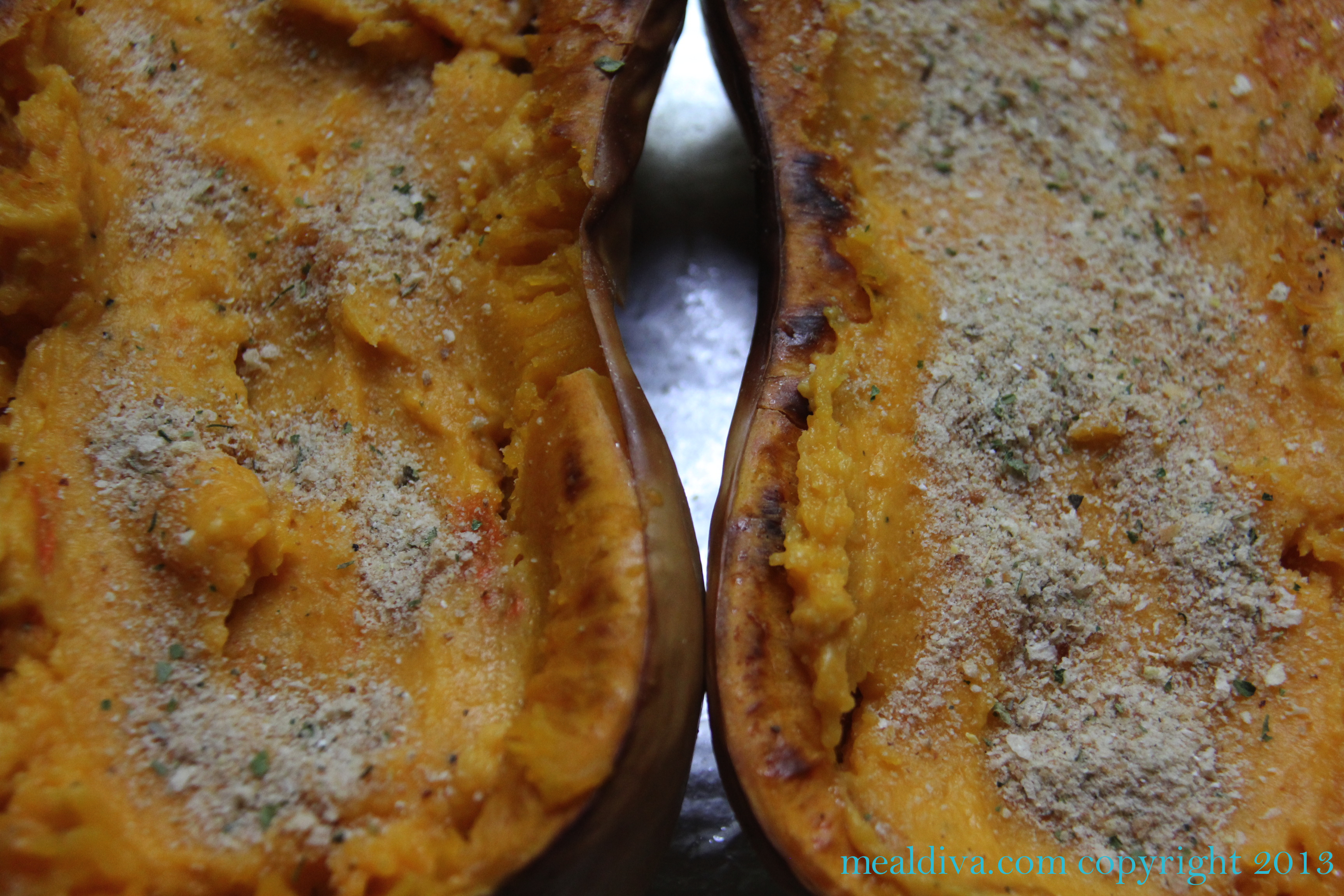 Twice-Baked Ranch Squash