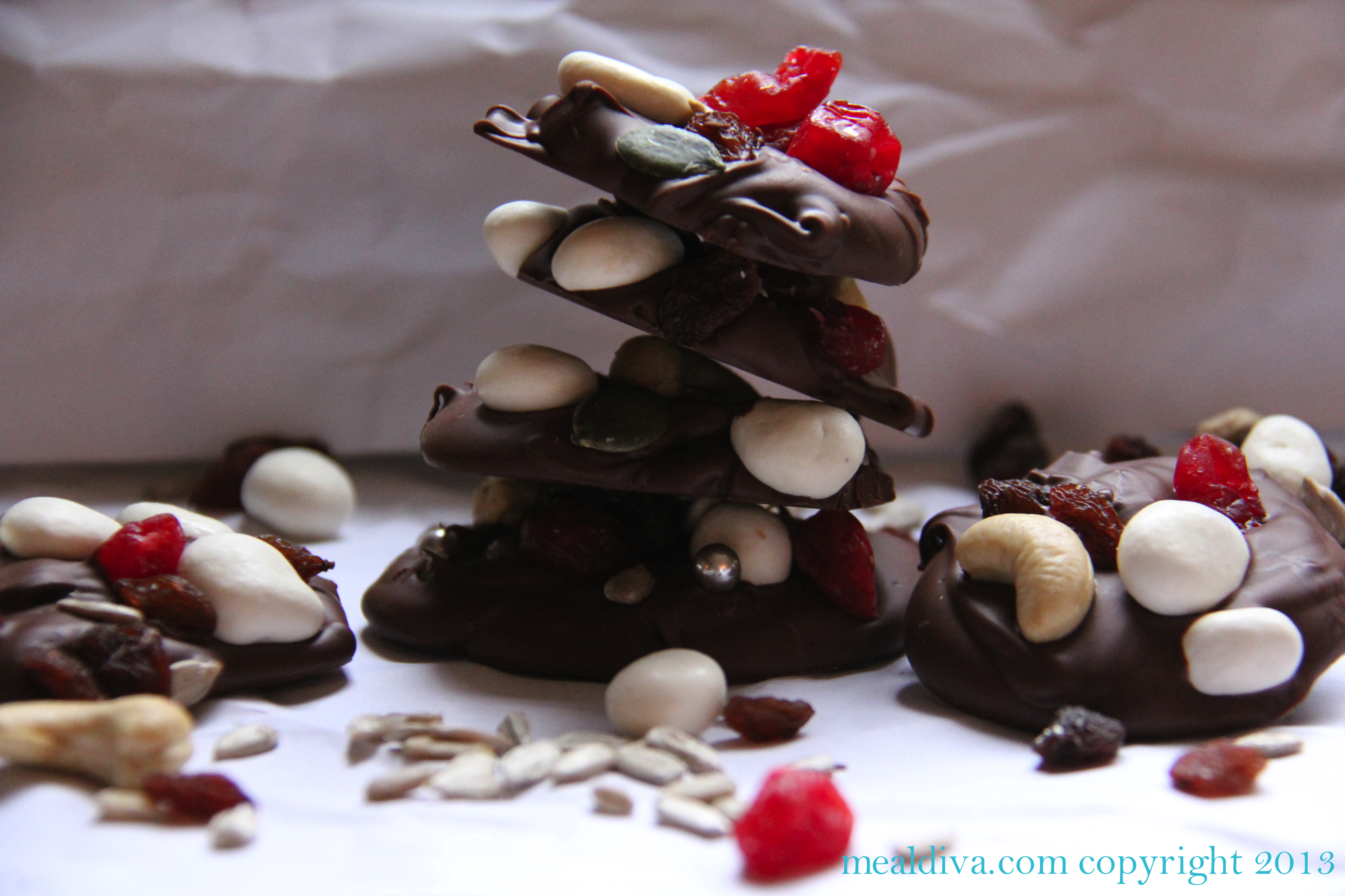 Chocolate Bark Bites