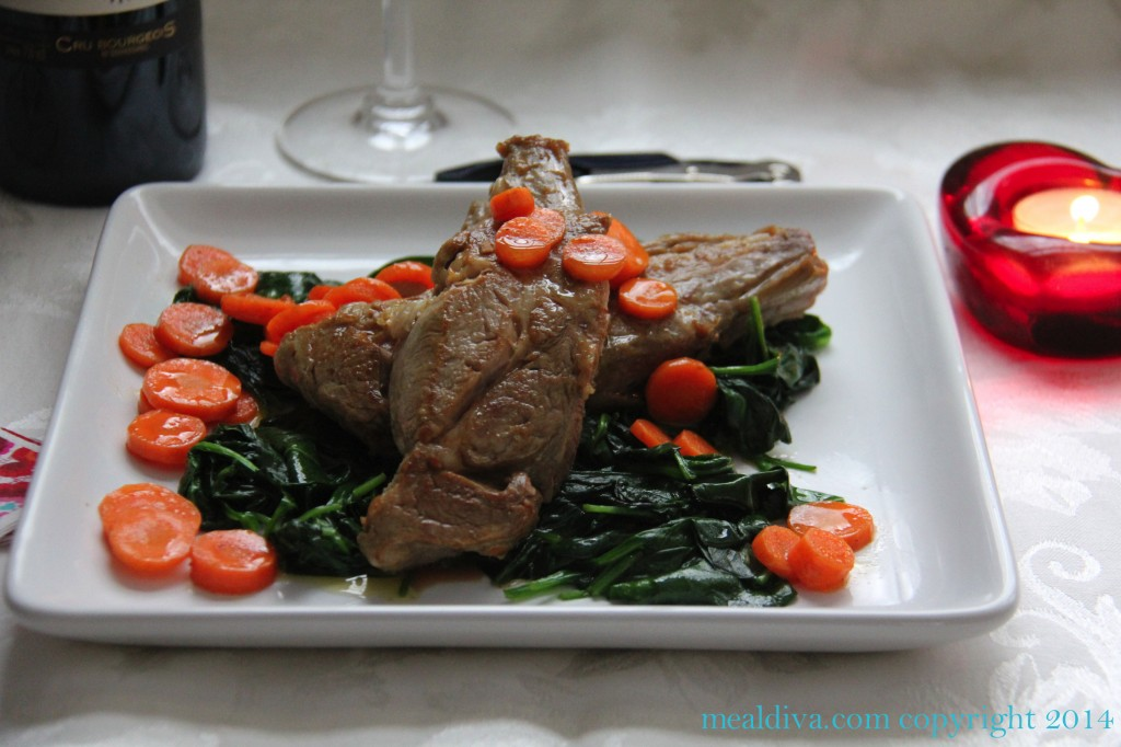 flambeed veal 7
