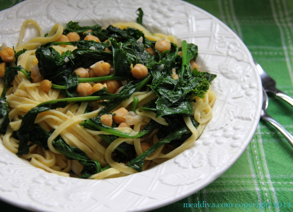 broccoli rabe pasta toss 7