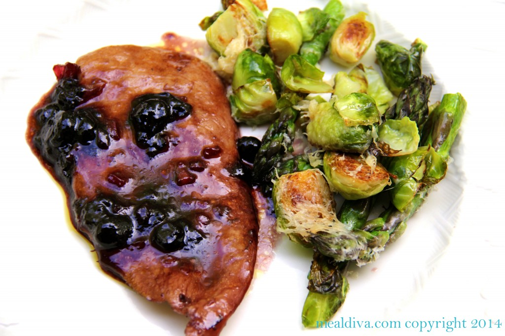 easy baked asparagus brussel sprouts 2