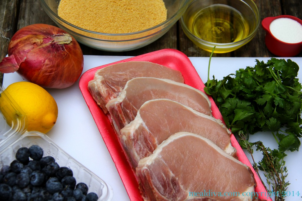 blueberry pork chops 1