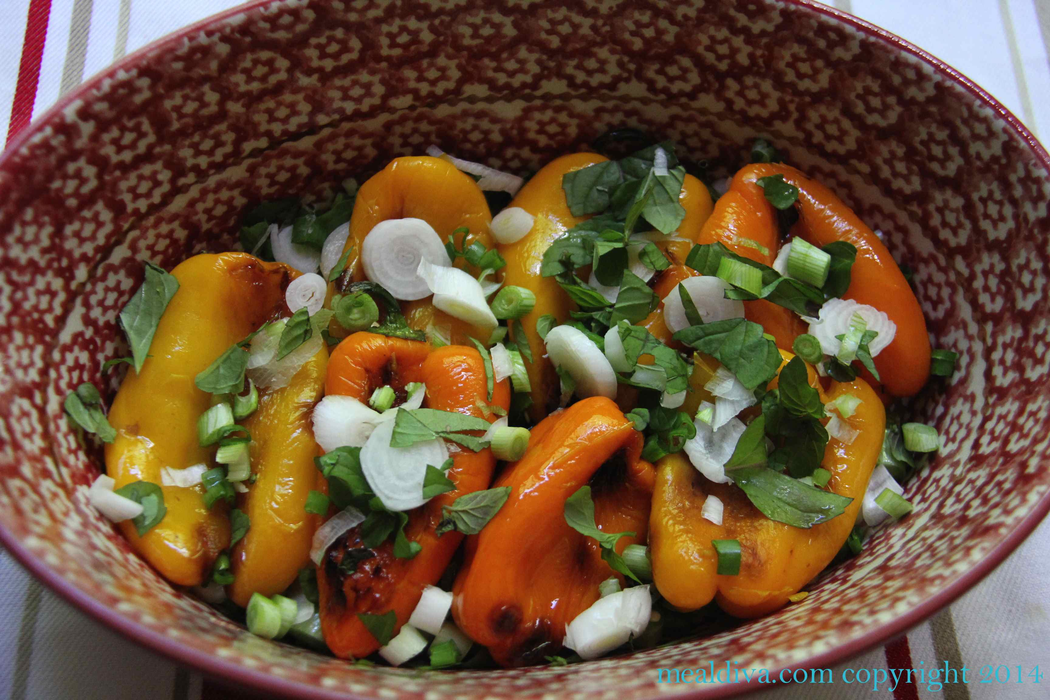 Comforting Baked Peppers with Cream