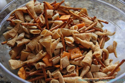reindeer snack mix 1