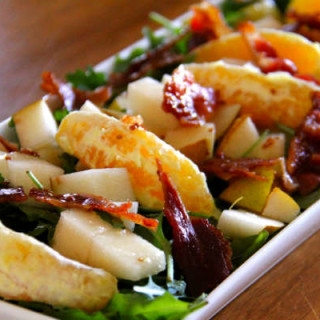 Winter Citrus and Bacon Salad
