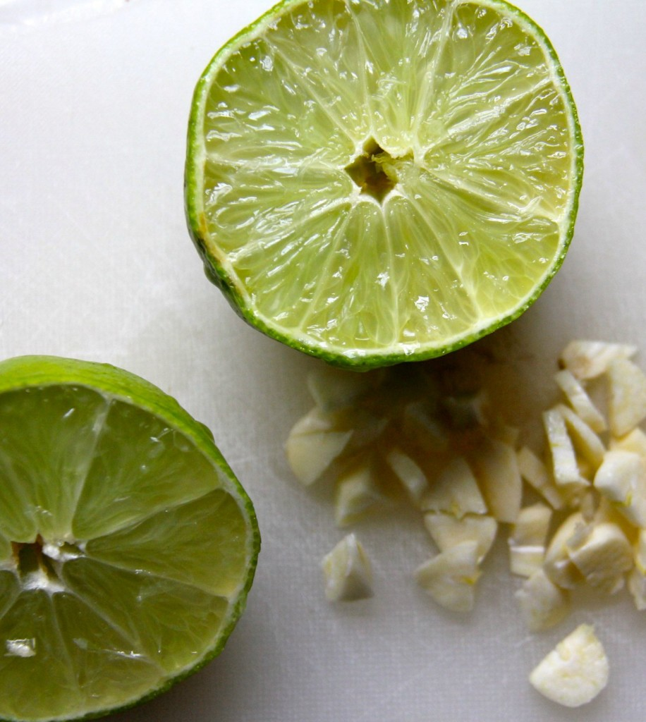 rice & beans limes