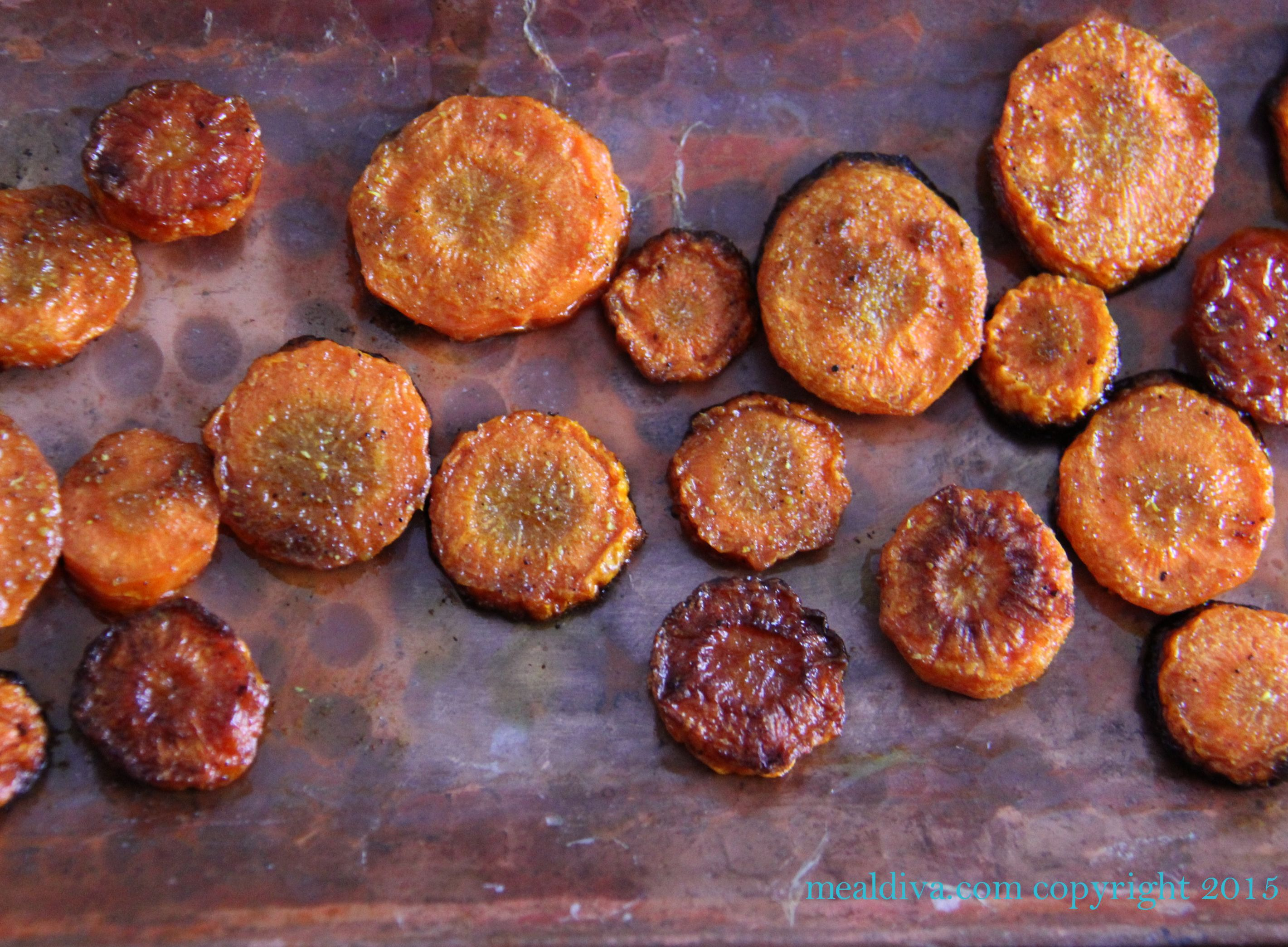 Roasted Cumin Carrot Bites