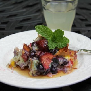 Stupidly Delicious and Gluten-Free Berry Breakfast Bake