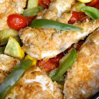 One Pan Chicken with Vegetables