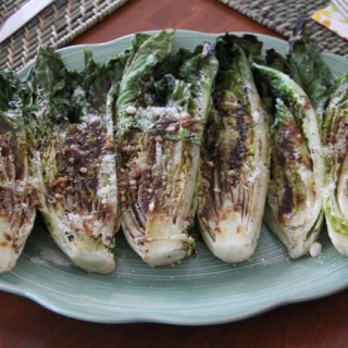 Knock You Naked Grilled Romaine Salad