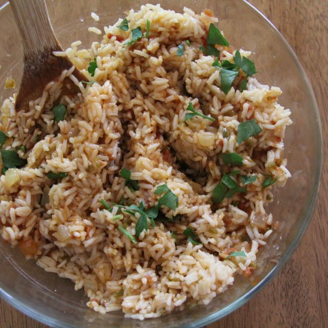 Easy Spanish Rice 1