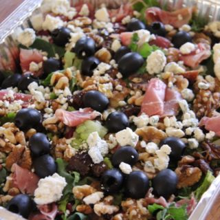 Sweet and Savory Chopped Salad with Homemade Dressing