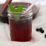 blueberry mocktail feature